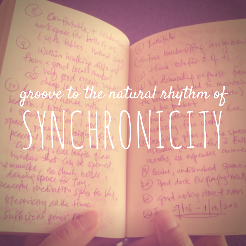 Groove to the natural rhythm of synchronicity