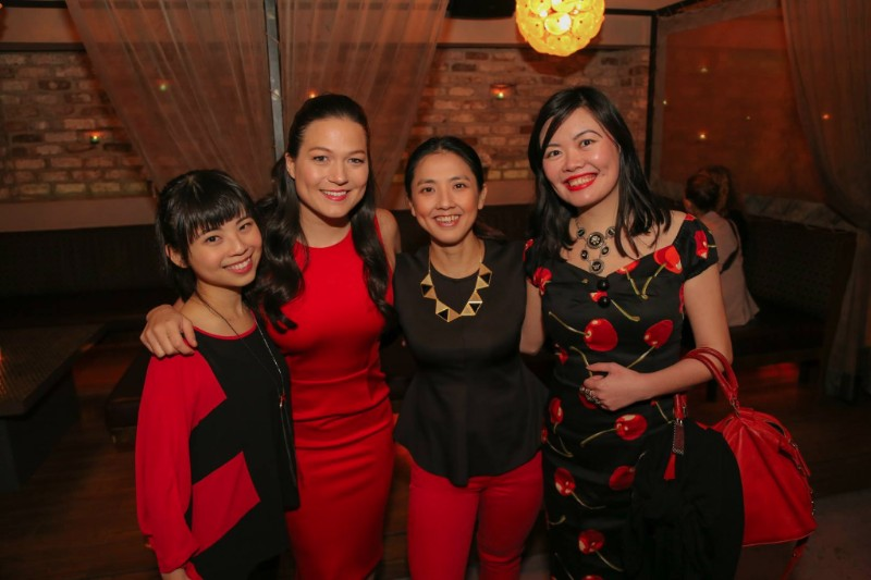 Us at GKGC Live VIP Mixer with our mentor Selena Soo and fellow course-mate Perpetua. Photo Credit: Selena Soo