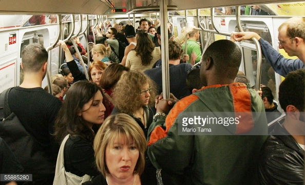 Rush Hour NYC Subway