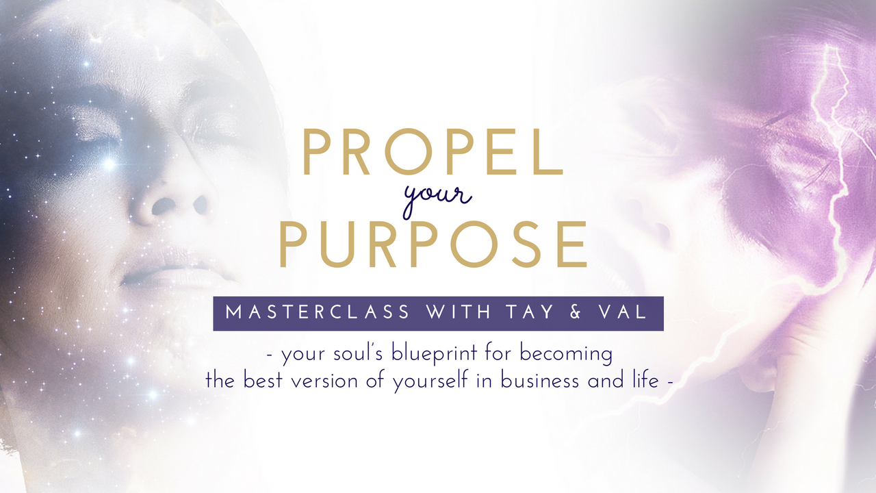Propel Your Purpose Masterclass