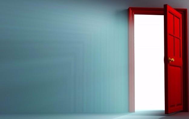 door in wall